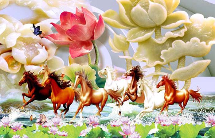 Ngựa là con giáp rất phù hợp với tuổi Tuất