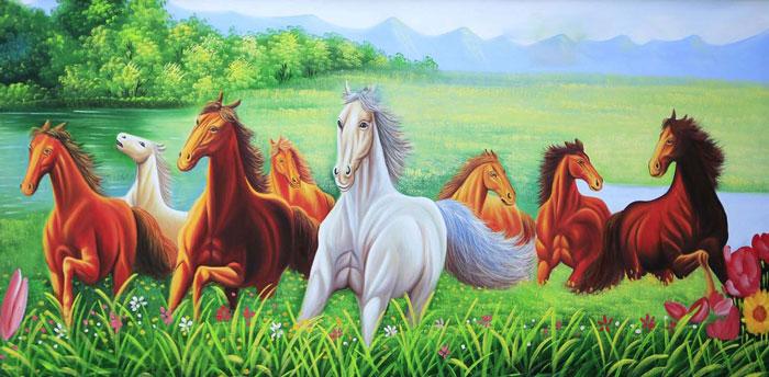 tuổi tý có treo tranh ngựa được không