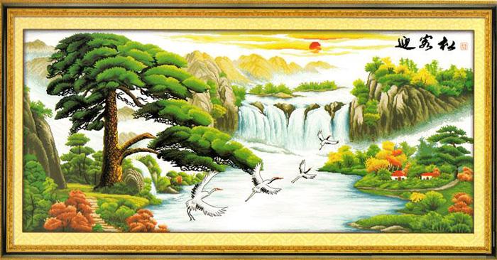 Những dòng tranh có cây cối nhiều sẽ thích hợp cho người mệnh Mộc