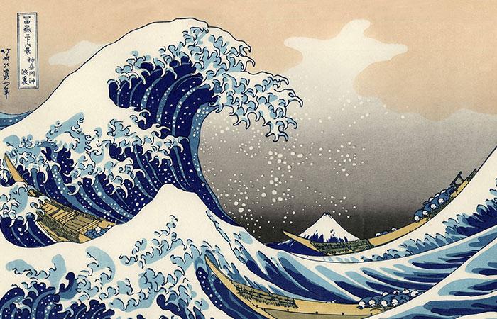 Tranh sóng biển thích hợp với ai có tương sinh mệnh Thủy