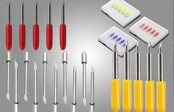 Lưỡi dao cắt và độ nghiêng không phù hợp sẽ dẫn đến sự hư hại khi cắt decal