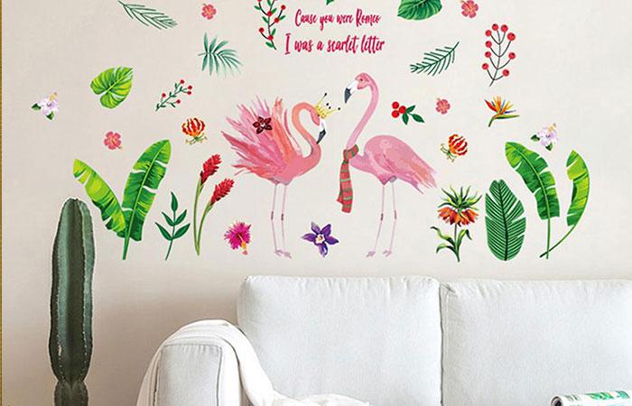 tranh decal dán tường