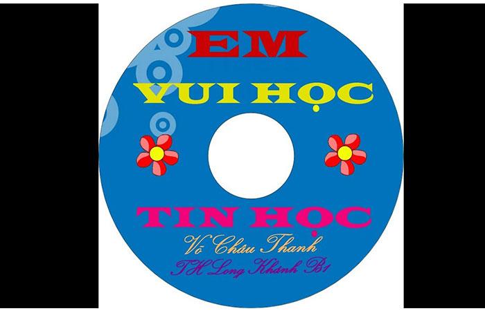 cách làm nhãn đĩa dvd