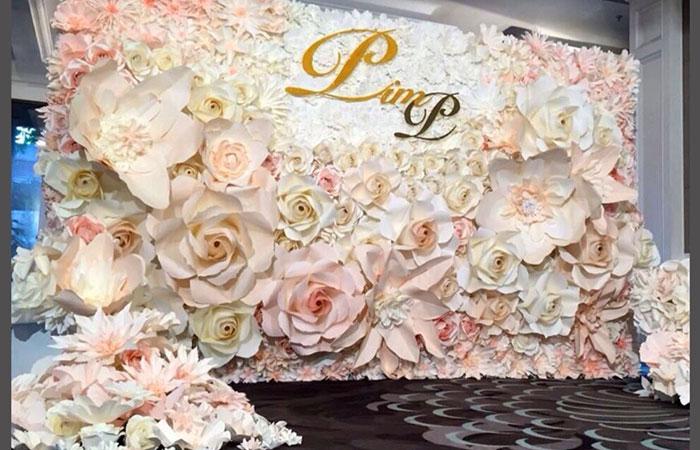 thiết kế backdrop đám cưới