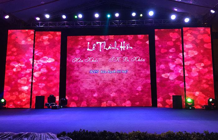 kích thước khung backdrop sân khấu