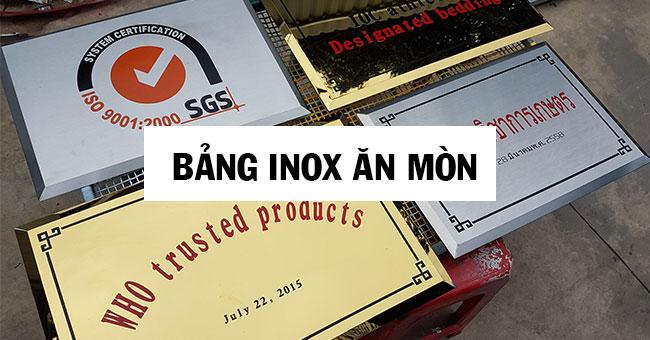 Bảng Hiệu Inox