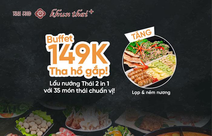 Menu món Thái