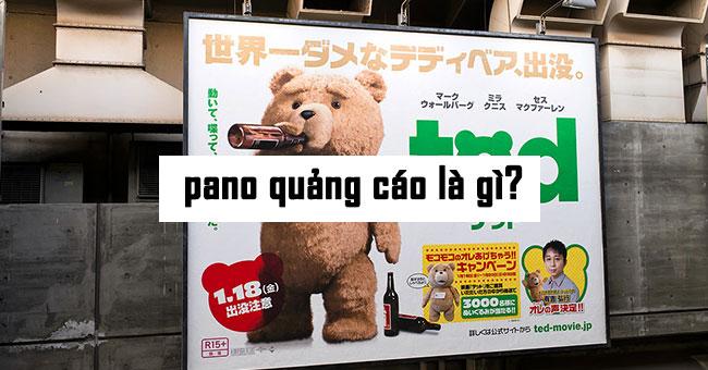 Pano quảng cáo là gì