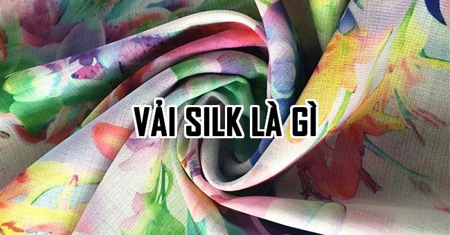 Vải silk là gì? Tìm hiểu ứng dụng của nó trong in ấn
