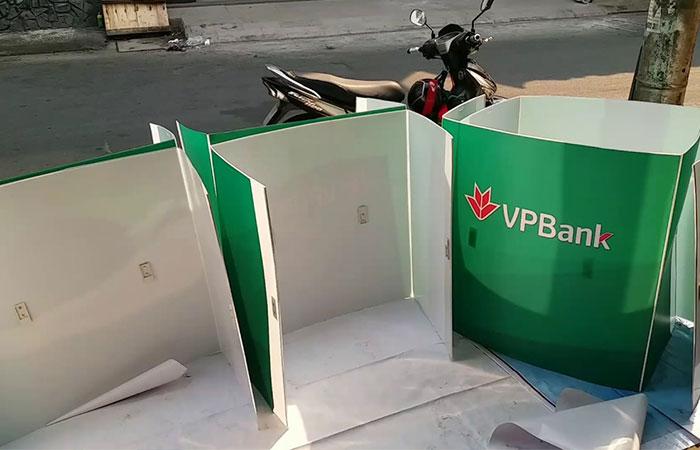 Booth nhựa có thể gấp ra gấp vô dễ dàng
