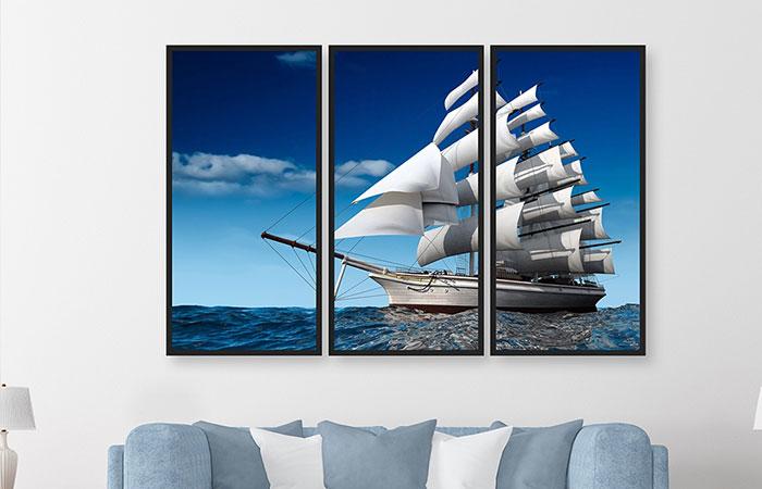Tranh thuận buồm xuôi gió treo hướng nào tốt