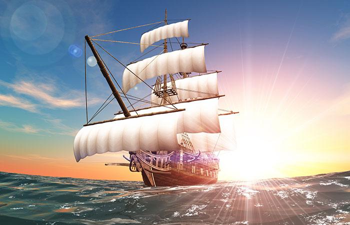 Người mệnh Thủy sẽ thích` hợp với tranh thuận buồm xuôi gió nhất