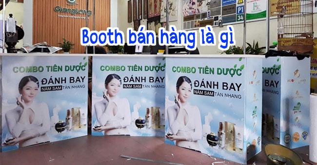 Kệ Booth bán hàng là gì? Có phải cách marketing thông minh?