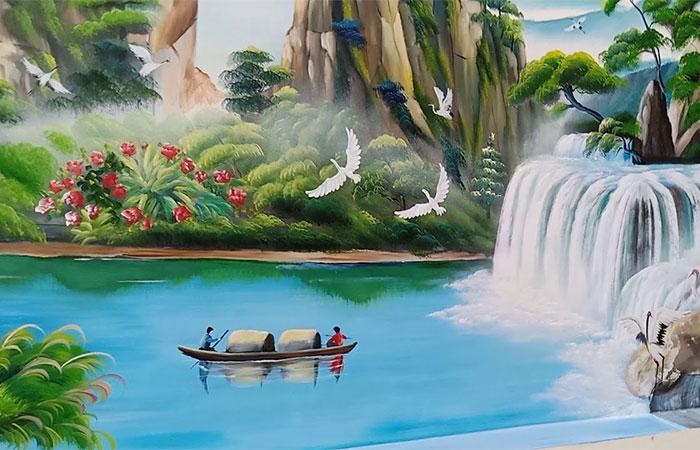 ý nghĩa tranh sơn thủy hữu tình