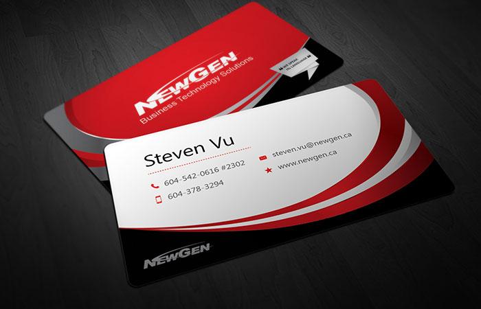 app thiết kế card visit