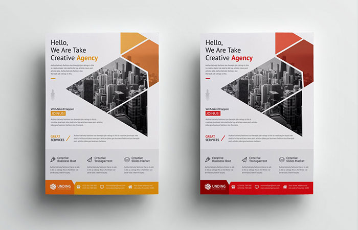 Giá thiết kế flyer