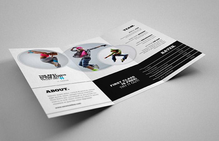 Mẫu thiết kế brochure