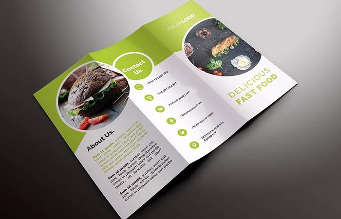 Thiết kế brochure cần có bố cục rõ ràng