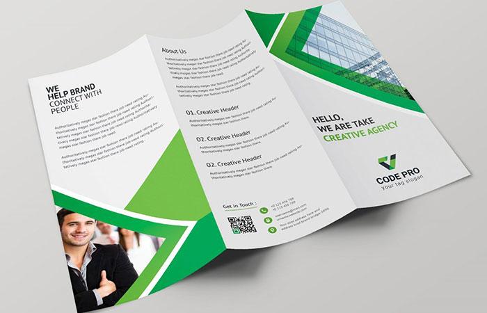 Giấy couches được dùng để in brochure phổ biến nhất hiện nay