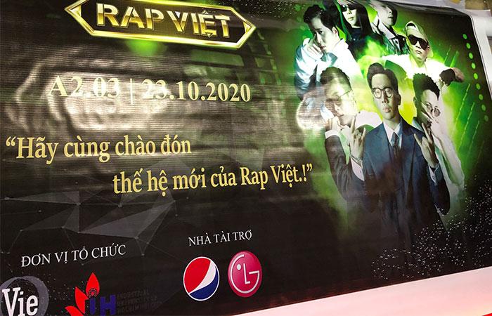 In hiflex họp báo chương trình RAP VIỆT