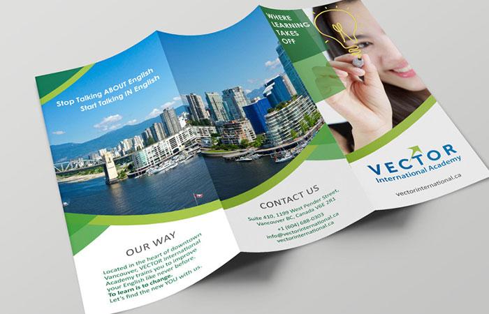 In brochure là 1 cách để quảng bá thương hiệu cực kỳ hiệu quả