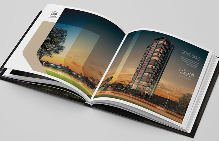 In catalogue giấy Couche được áp dụng phổ biến nhất