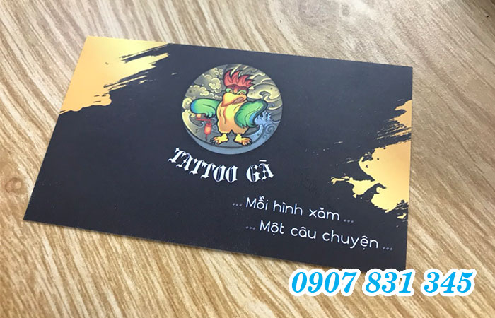 In name card Gò Vấp