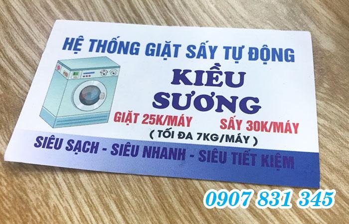 In name card Tân Bình