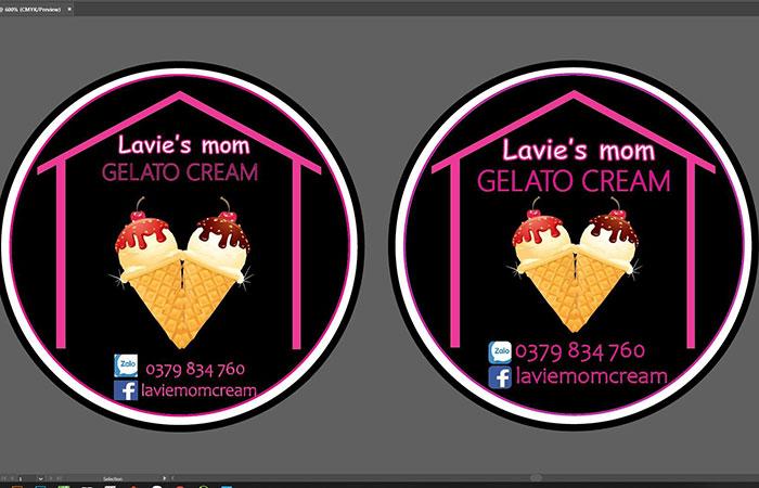Mẫu thiết kế sticker 3