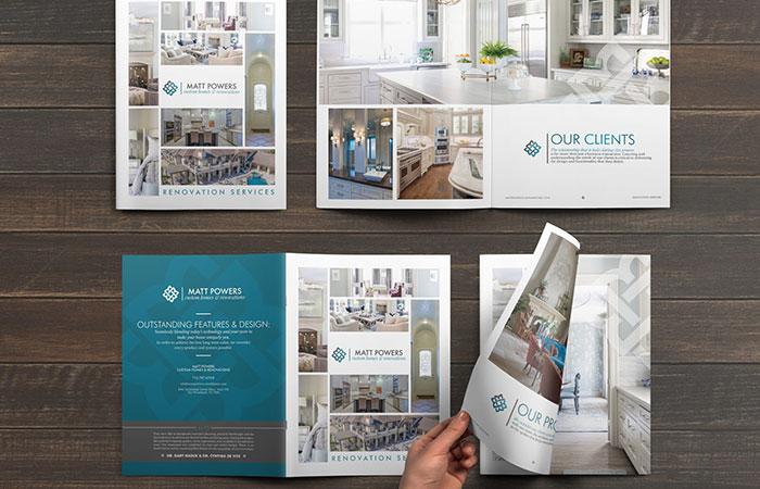 Mục đích chính khi sử dụng brochure là giới thiệu về doanh nghiệp hoặc giới thiệu về sản phẩm