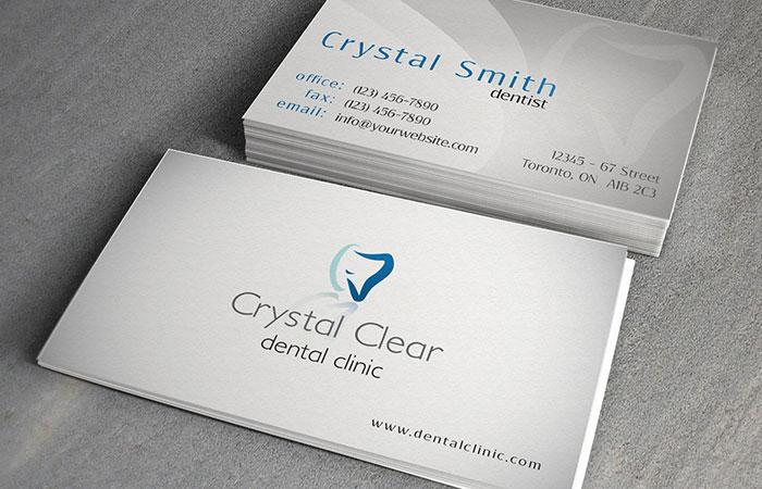 Name card thường làm với kích thước nhỏ phù hợp để bỏ vào ví