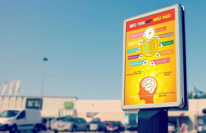Thiết kế poster đẹp sẽ cho khả năng thu hút khách hàng cao