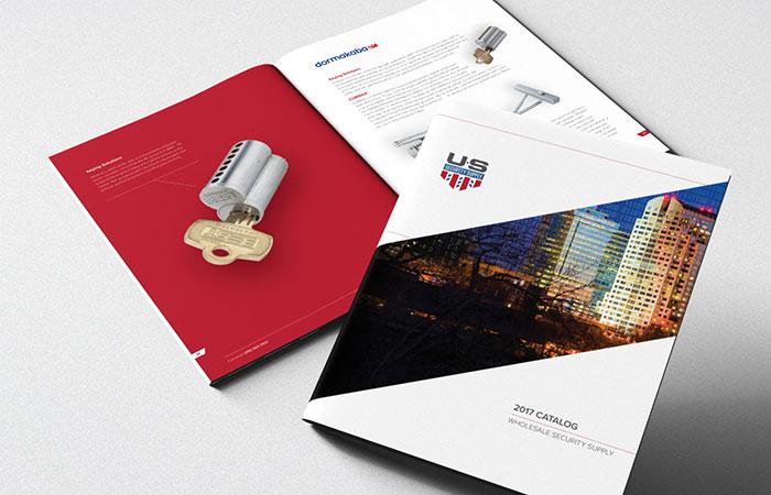 Trong 1 cuốn catalogue sẽ có trang bìa, bìa cuối và phần nội dung bên trong