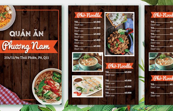 Bạn hãy tìm kiếm những hình ảnh chân thực nhất về món ăn để kích thích vị giác của khách hàng
