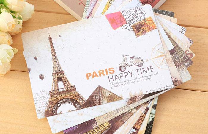 Bưu ảnh là sản phẩm in ấn thường được dùng trong nghành du lịch