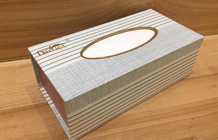 In hộp giấy đựng khăn theo yêu cầu