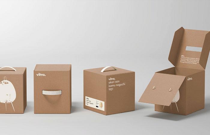 In hộp giấy đựng quà giấy Kraft cao cấp