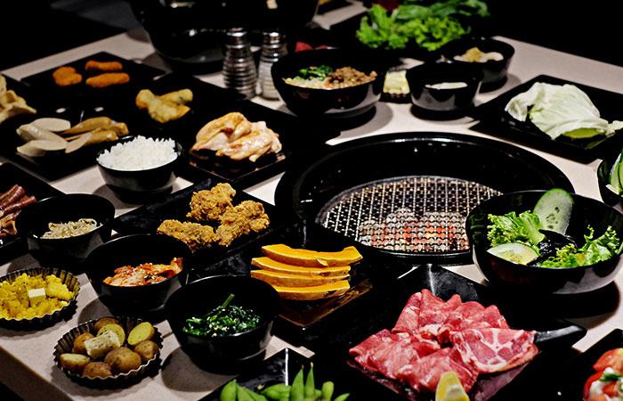 Những món ăn buffet khách hàng có thể chọn trong nhà hàng
