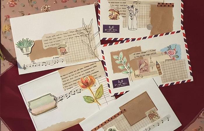 Thiết kế bưu ảnh kỷ niệm làm quà tặng cho người thân