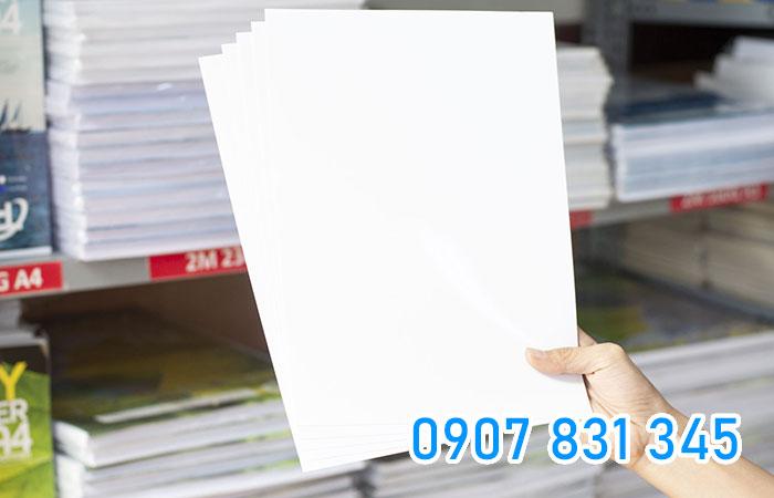 Định lượng giấy càng cao thì độ dày của giấy càng lớn